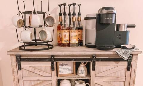 Πώς θα φτιάξετε το δικό σας coffee bar στο σπίτι (pics)