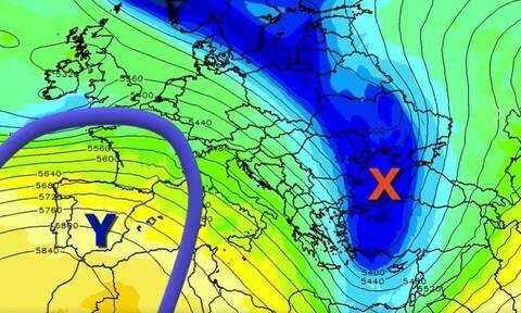 Καιρός: Εβδομάδα με τρεις διαδοχικές κακοκαιρίες! Προειδοποίηση Μαρουσάκη (vid)