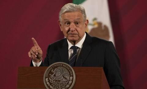 Μεξικό: Θετικός στον κορονοϊό ο πρόεδρος Αντρές Μανουέλ Λόπες Ομπραδόρ