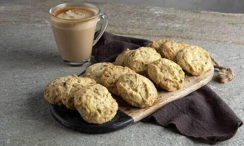 Cookies με φιστίκια Αιγίνης από τον Άκη Πετρετζίκη