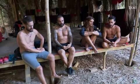 Survivor: Οι ειρωνείες του James και τα δάκρυα του Τριαντάφυλλου (video)