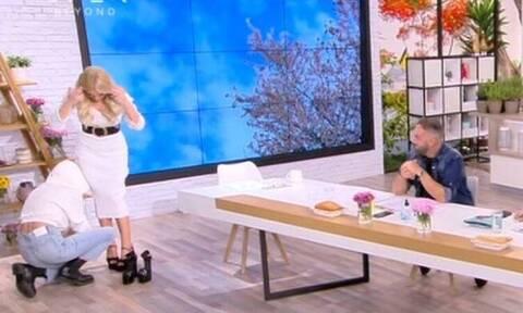 Καινούργιου: Η κίνηση της παρουσιάστριας που «πυροδότησε» τις φήμες για εγκυμοσύνη