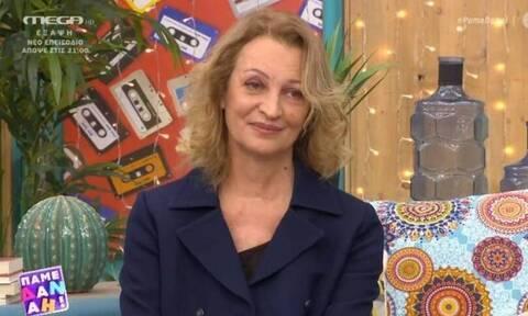 Λουκία Πιστιόλα για Μπέζο: «Ο πιο μη κομπλεξικός άνθρωπος του θεάτρου»