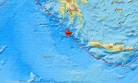 Σεισμός νότια της Πελοποννήσου (pics)