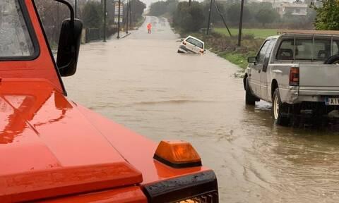 Κακοκαιρία - Αγρίνιο: Συνεχίζονται οι απαντλήσεις υδάτων - Σε επιφυλακή η Πυροσβεστική