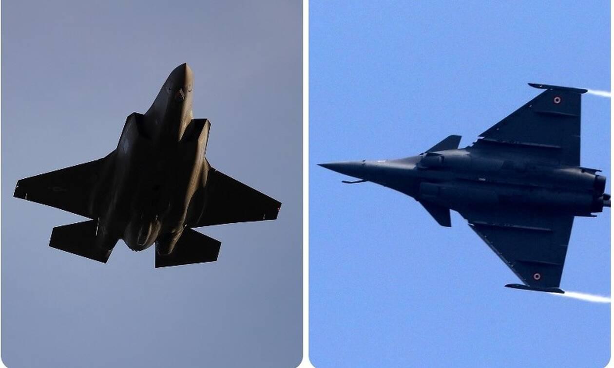 Πολεμική Αεροπορία: «Κέρβερος» στο Αιγαίο! Rafale, «οχιές» και στο βάθος... F-35
