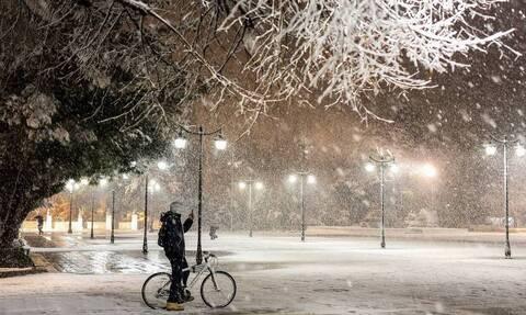Καιρός: Χιονοκαταιγίδα στη Ροδόπη – Εντυπωσιακές εικόνες (vid)