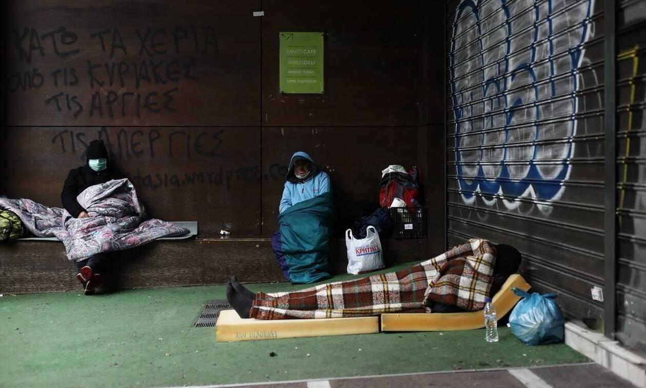 Κακοκαιρία: Μέτρα προστασίας από το Δήμο Αθηναίων για τους άστεγους