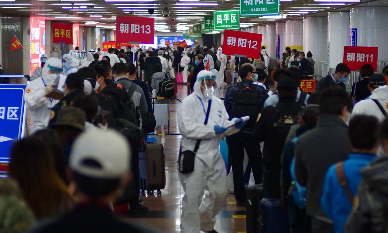 Κορονοϊός στην Κίνα: 75 νέα κρούσματα σε 24 ώρες