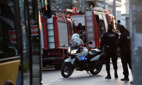 Θεσσαλονίκη: Φωτιά σε εγκαταλελειμμένο κτήριο στην Τούμπα