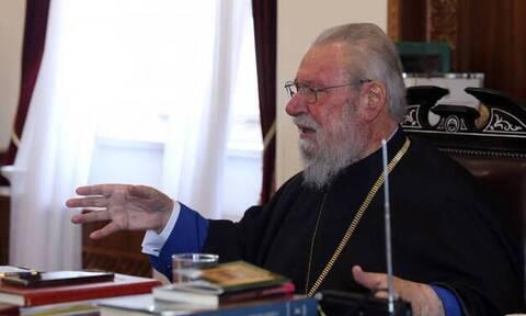 Αρχιεπίσκοπος Κύπρου: Oύτε εγώ, ούτε ο Πρόεδρος είμαστε κλέφτες - Για όνομα του Θεού