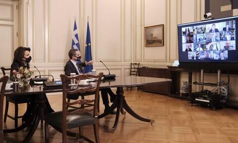Μητσοτάκης: Εμβληματικό έτος το 2021 για την Ελλάδα - Υποχρέωση να προδιαγράψουμε το μέλλον μας