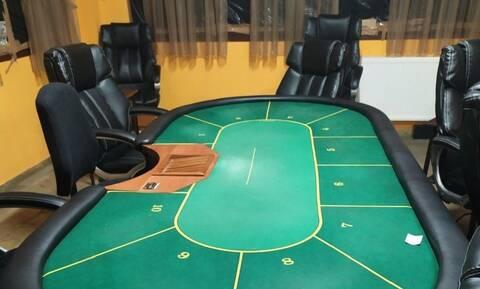 Ημαθία: Μετέτρεψαν ταβέρνα σε «μίνι» καζίνο – Χειροπέδες σε 24 άτομα