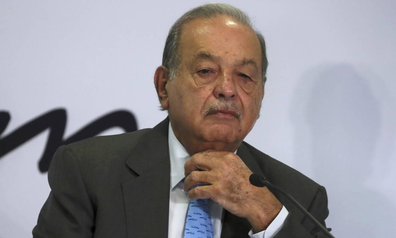 Μεξικό: Ο μεγιστάνας Κάρλος Σλιμ νοσηλεύεται με κορονοϊό