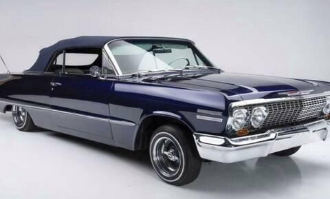 Πόσο πωλείται μία Chevrolet Impala του 1963 του αδικοχαμένου Kobe Bryant;
