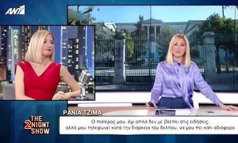 Ράνια Τζίμα: Γιατί ο πατέρας της την αποκαλούσε «χαζό»; (vid)