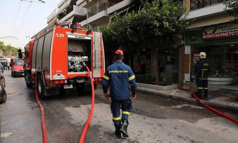 Τραγωδία στο Ίλιον: Απανθρακώθηκε γυναίκα μετά από φωτιά σε διαμέρισμα