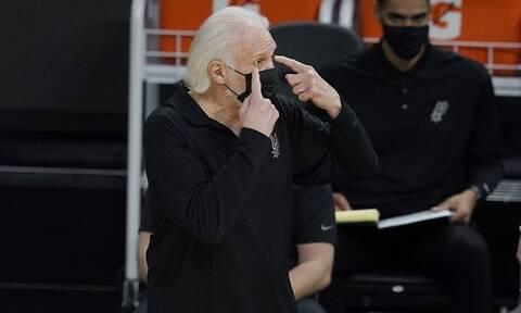 Κορονοϊός: Εμβολιάστηκε ο Γκρεγκ Πόποβιτς – Είναι ο γηραιότερος προπονητής στο ΝΒΑ