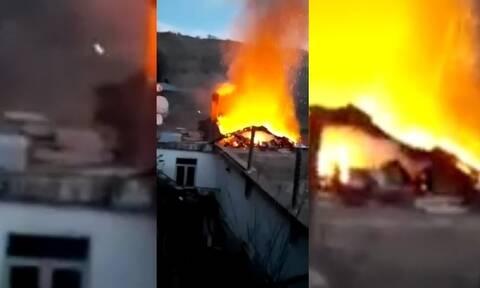 Τραγωδία στην Ξάνθη: Ζευγάρι ηλικιωμένων κάηκαν ζωντανοί στο σπίτι τους