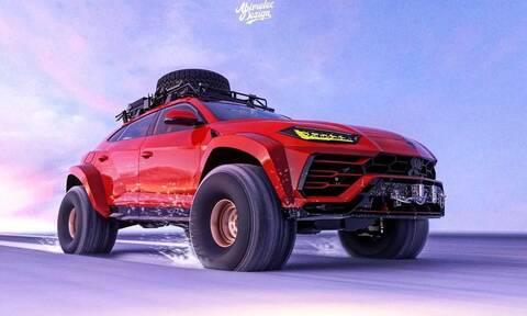 Αυτή η Lamborghini Urus θα μπορούσε να φτάσει και στο Βόρειο Πόλο!