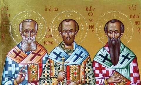 Τρεις Ιεράρχες: Ποιοι ήταν και γιατί τους γιορτάζουμε σήμερα