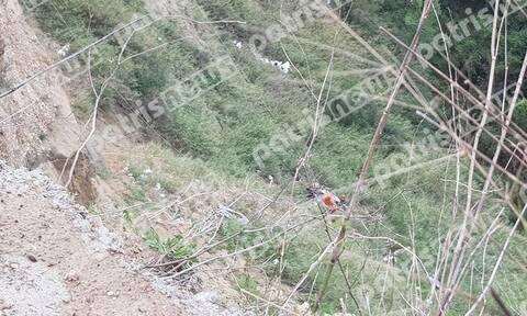 Νεκρός ο 78χρονος Θοδωρής Αστερής – Έπεσε στον γκρεμό από ύψος 70 μέτρων
