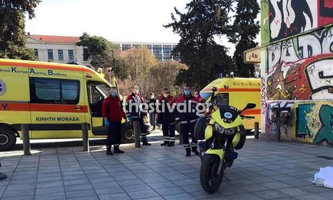 Θεσσαλονίκη: Βουτιά θανάτου για 66χρονο στο κέντρο της πόλης