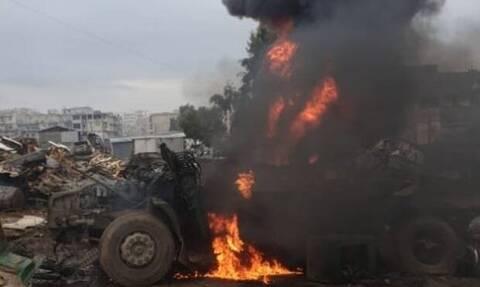 Πέντε νεκροί και 22 τραυματίες από έκρηξη στην Αφρίν – Το PKK κατηγορεί η Τουρκία