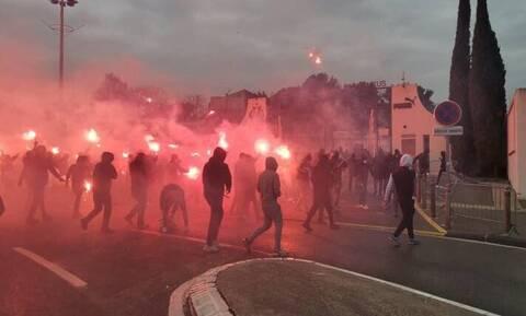 Γαλλία: «Χαμός» στη Μασσαλία! - «Άγριο» ντου οπαδών στο προπονητικό της Μαρσέιγ (photos+videos)
