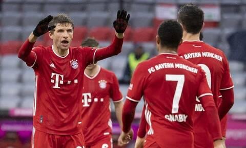 Bundesliga: Χωρίς αντίπαλο η Μπάγερν Μονάχου – Όλα τα γκολ στη Γερμανία