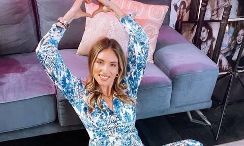 Δες την Αθηνά Οικονομάκου με πολύ φουσκωμένη κοιλίτσα: Είναι πανέμορφη