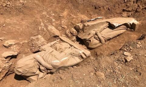 Το εντυπωσιακό αρχαιολογικό εύρημα στη Παιανία αποκαλύπτεται