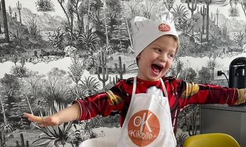 Chiara Ferragni: Ο γιος της φτιάχνει πίτσα & λιώνει το Instagram
