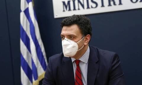 Κορονοϊός: Έκτακτη σύσκεψη Κικίλια στο υπουργείο Υγείας για ένα τρίτο κύμα της πανδημίας