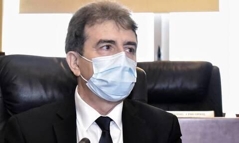 Στην Πάτρα ο Χρυσοχοΐδης: Σύσκεψη για τα μεταλλαγμένα κρούσματα σε νοσοκομείο