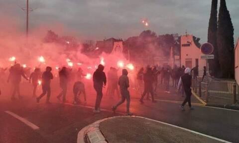 Μαρσέιγ: Στον εισαγγελέα 18 οπαδοί για τη φωτιά στο προπονητικό κέντρο (vid+pics)