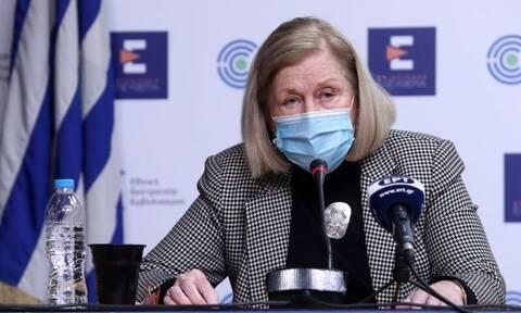 Θεοδωρίδου: Τι ισχύει για το εμβόλιο της AstraZeneca – Όχι πανικός με τις μεταλλάξεις