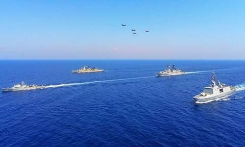 Rafale: Ερντογάν, κοίτα στο Αιγαίο! Γαλλικά μαχητικά μαζί με ελληνικά F-16 και Mirage 2000-5