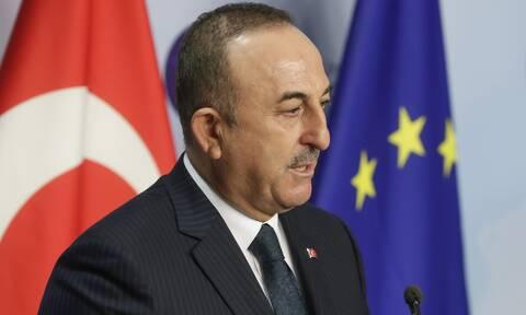 Σε άλλο κόσμο ο Τσαβούσογλου: «Η σημαία μας να κυματίζει στην Ανατολική Μεσόγειο»