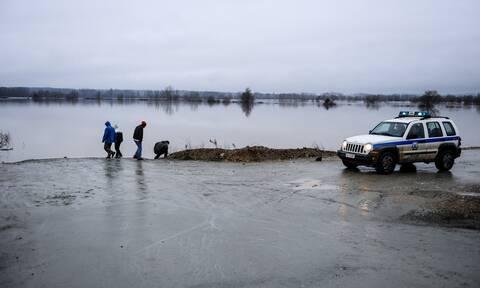 Έβρος: Συναγερμός λόγω της αύξησης των υδάτων σε Ερυθροποτάμο και Μικρό Δέρειο