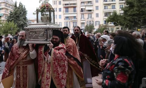 Θεσσαλονίκη: Ευθύνες στην Αστυνομία επιρρίπτει η Μητρόπολη για τον συνωστισμό του Αγίου Δημητρίου
