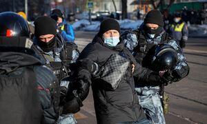В районе Мосгорсуда задержали более 200 человек