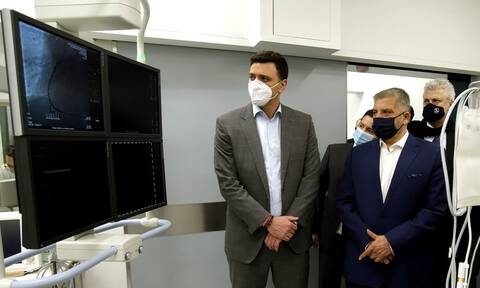 Νέος ψηφιακός αγγειογράφος στο νοσοκομείο «Σωτηρία»