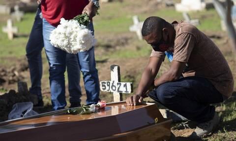 Κορονοϊός στη Βραζιλία: Πάνω από 1.200 θάνατοι και 54.096 κρούσματα σε 24 ώρες