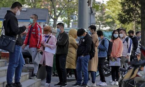 Υποχωρεί πάλι ο κορονοϊός στην Κίνα: 25 κρούσματα σε 24 ώρες