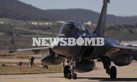Rafale: Το Newsbomb.gr από την Τανάγρα, τη «φωλιά» του νέου υπερόπλου της Πολεμικής Αεροπορίας (vid)