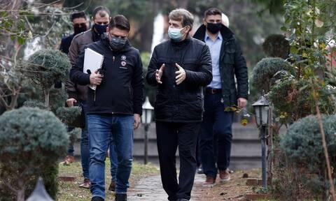 Χαρδαλιάς από Θεσσαλονίκη: Δεν τίθεται θέμα αυστηροποίησης μέτρων