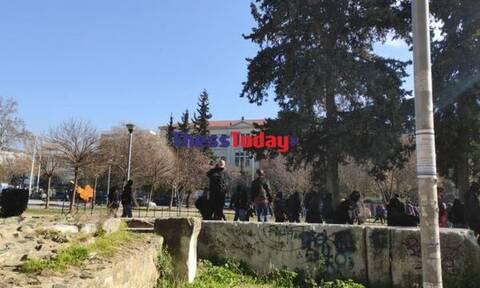 Ένταση στη Θεσσαλονίκη: Χημικά και μολότοφ μετά το φοιτητικό συλλαλητήριο
