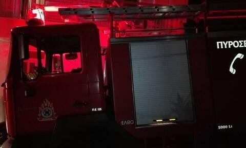 ΤΩΡΑ: Μεγάλη φωτιά σε φανοποιείο στο Περιστέρι - Καίγονται αυτοκίνητα