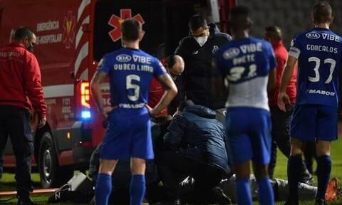 Πορτογαλία: Σοκαριστικός τραυματισμός, έκλαιγαν οι ποδοσφαιριστές - Δείτε την τρομακτική φάση (vid)